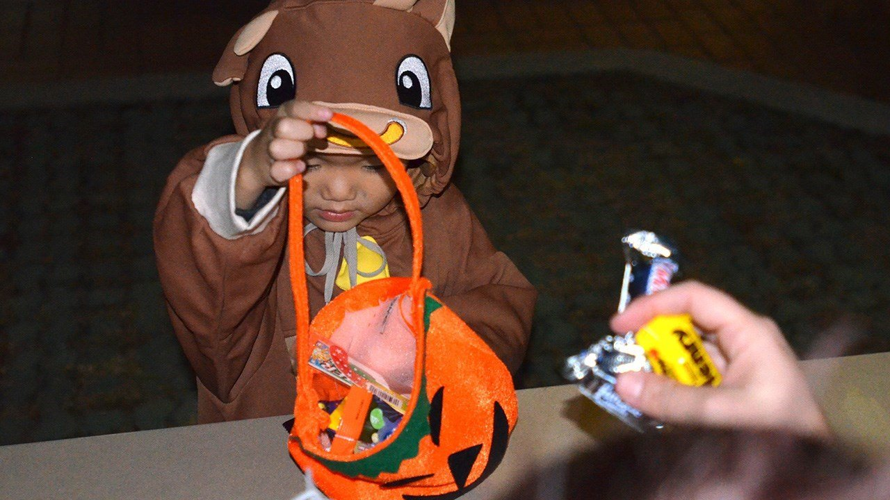 Law enforcement ensuring kids are safe on Halloween