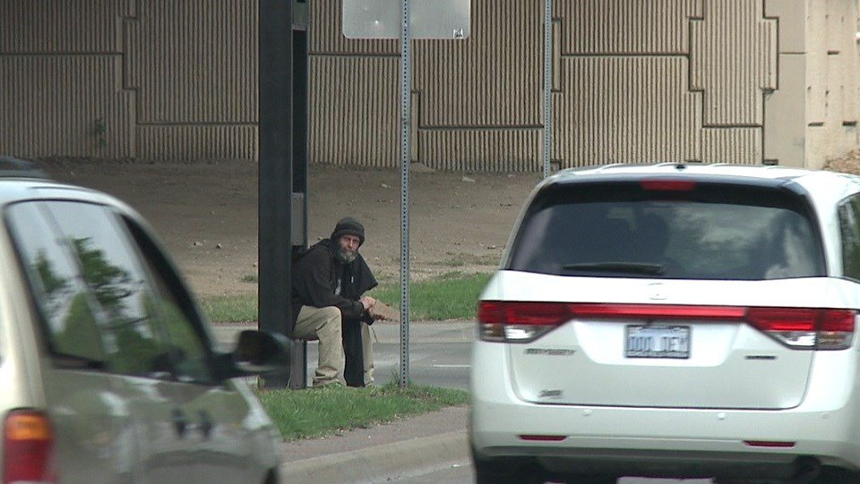 Drivers could go to jail for giving panhandlers money
