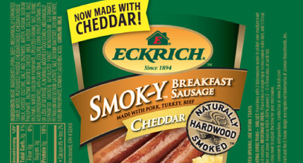 Eckrich Recalls 90000 Pounds of Breakfast Sausage