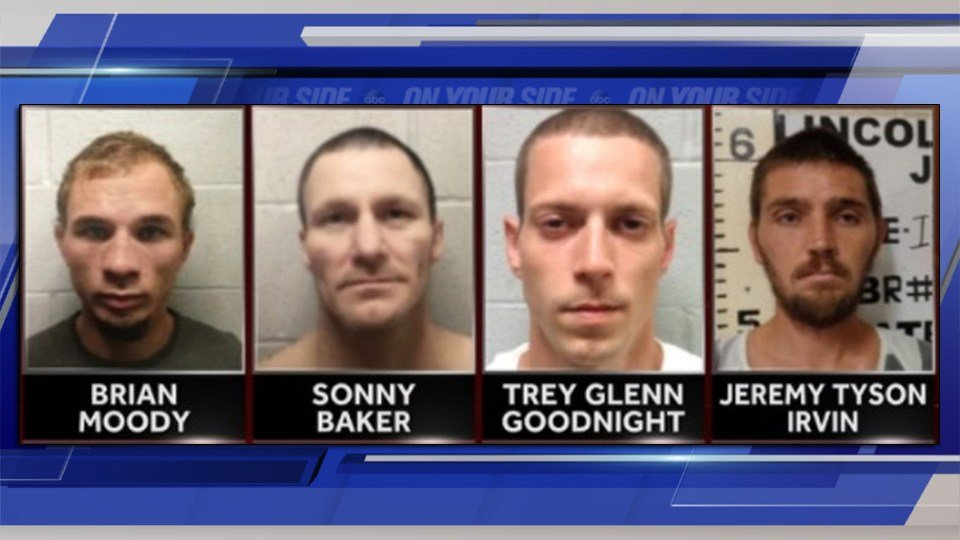 Four inmates, including one murderer, escape from Oklahoma jail
