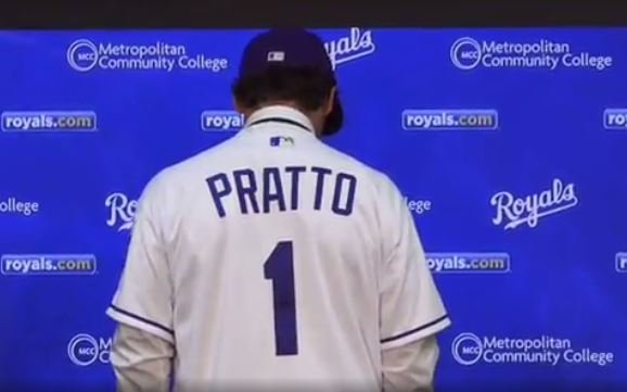 Royals sign, introduce first-round draft pick Nick Pratto