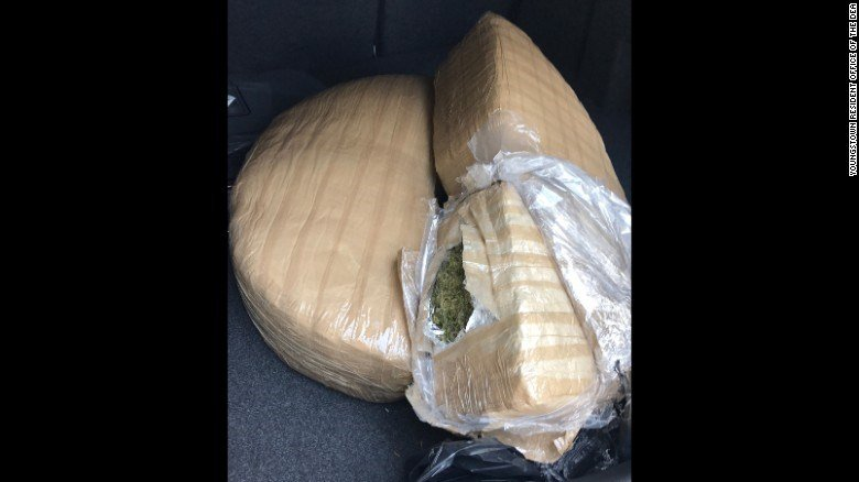 Agents seize 480 pounds of pot shipped from Mexico to Warren area