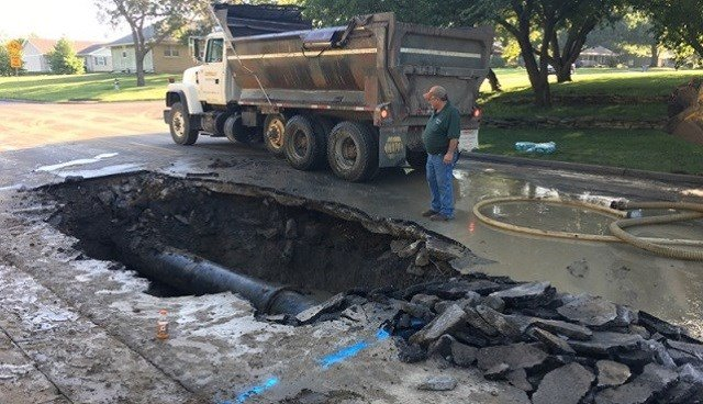 Major water main break leaves Emporia without water