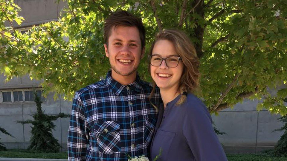 Kansas couple killed in crash one day after their wedding