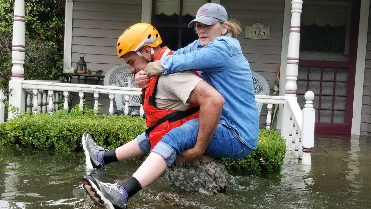 Facebook, Google to match Harvey donations