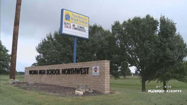 Additional security after threat to Wichita high school