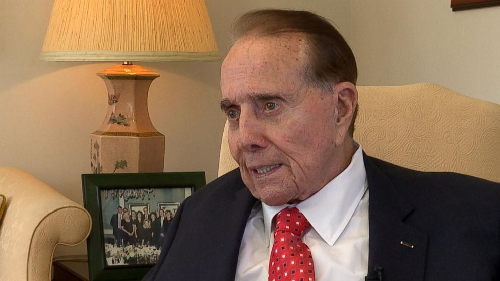 Former Sen. Bob Dole honored with Congressional Gold Medal