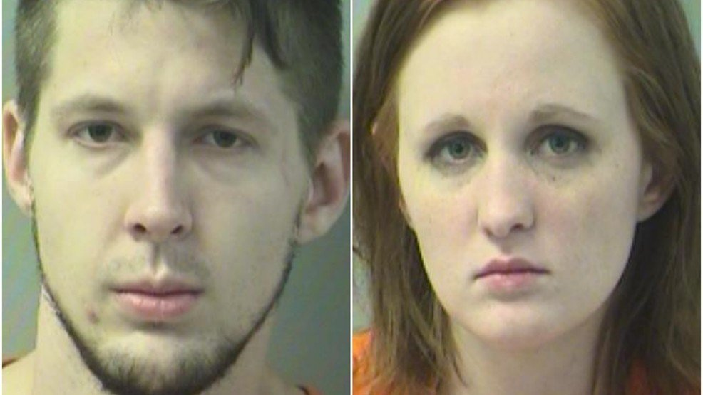 Cory Hagwell and Destinee Merrell | Source: Okaloosa County Sheriff's Office via WEAR