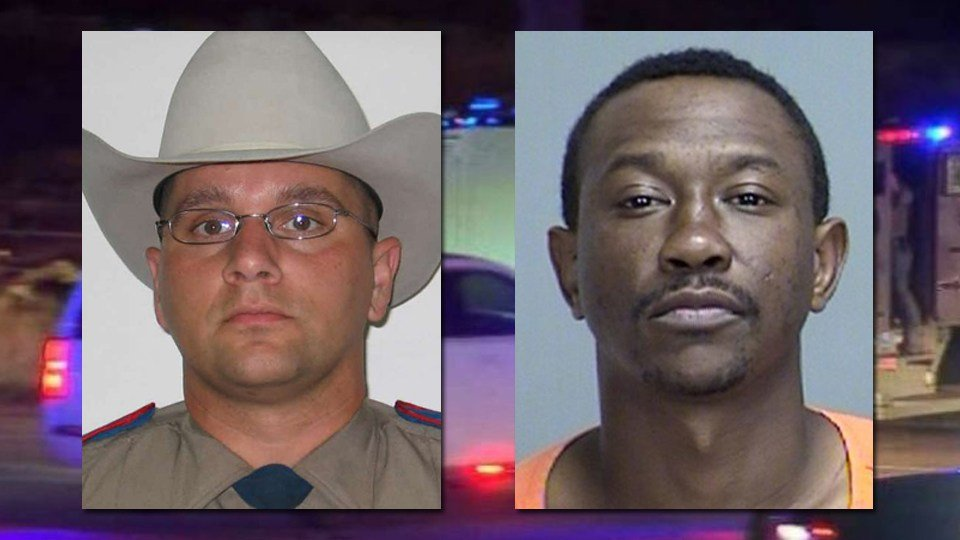 Trooper Damon Allen (left) and Dabrett Black
