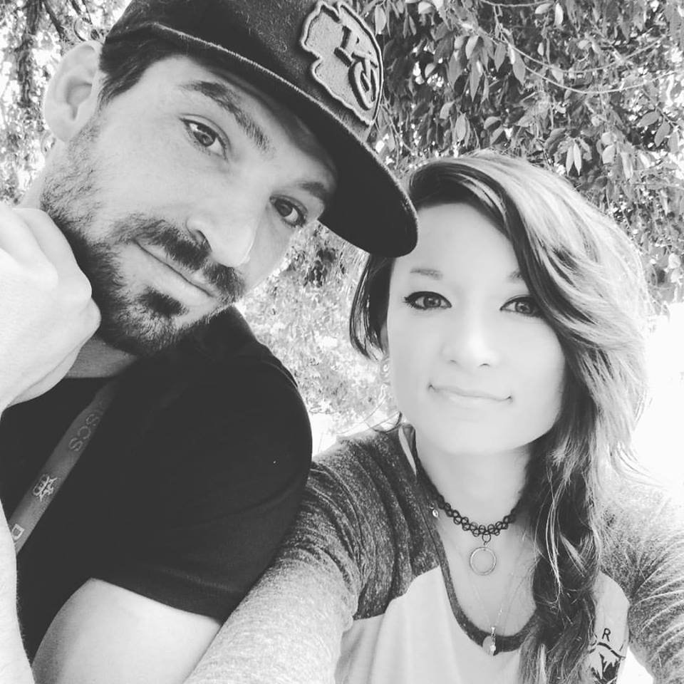 Aaron Suiter (left) and Bryena Mcquitty