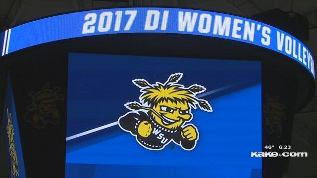 NCAA Volleyball Championship At Wichita State Draws Thousands Of Fans