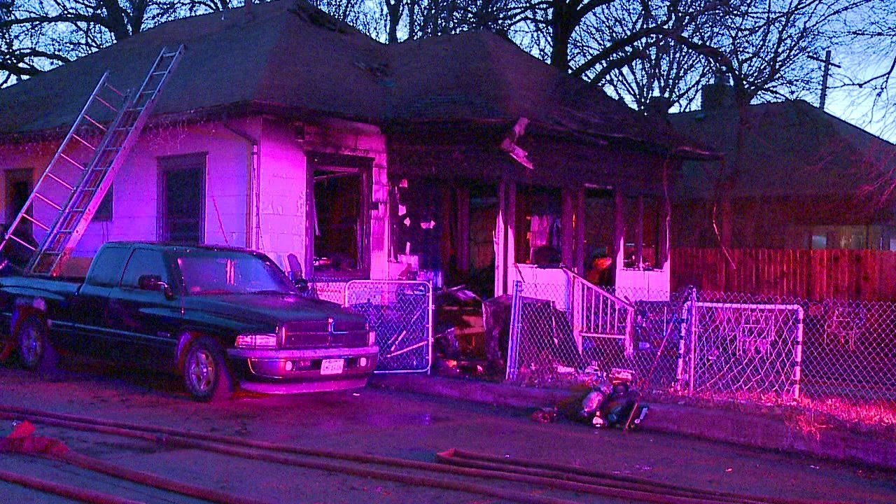House fire in north Wichita leaves 6 without a home