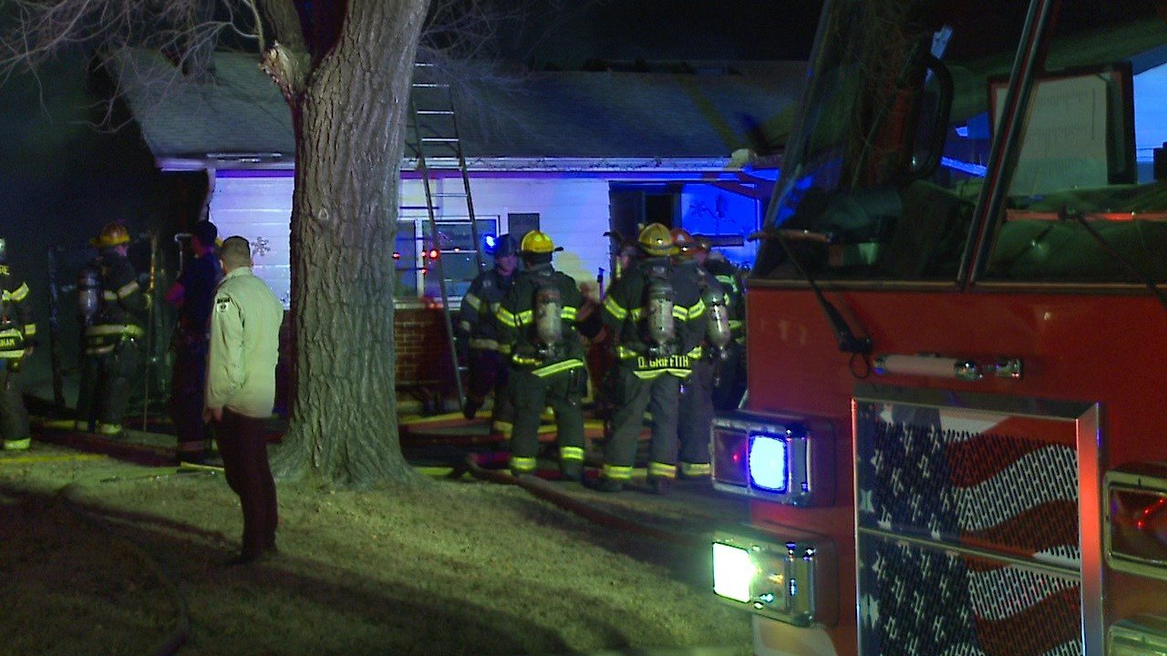 2 Wichita homes badly damaged in 2-alarm fire