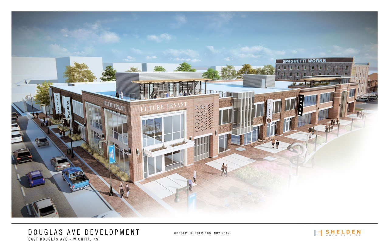 Proposed downtown development