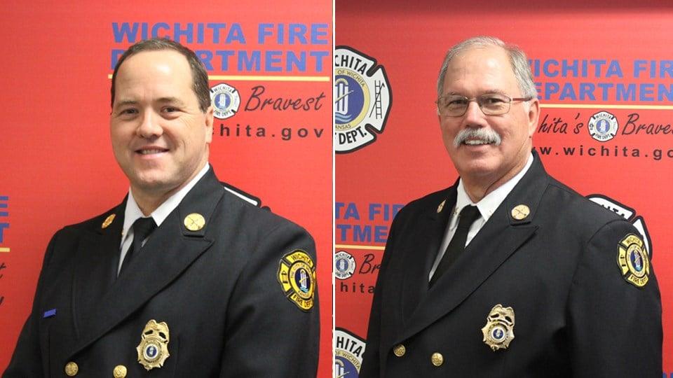 Stuart Bevis (left) and Joe Bickel