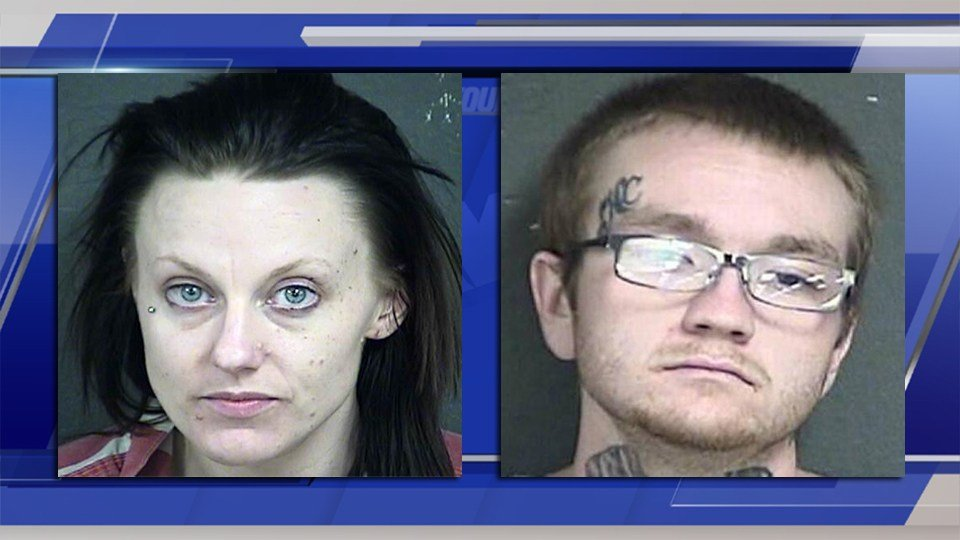 Shannon Dace (left) and Zachary Barnes