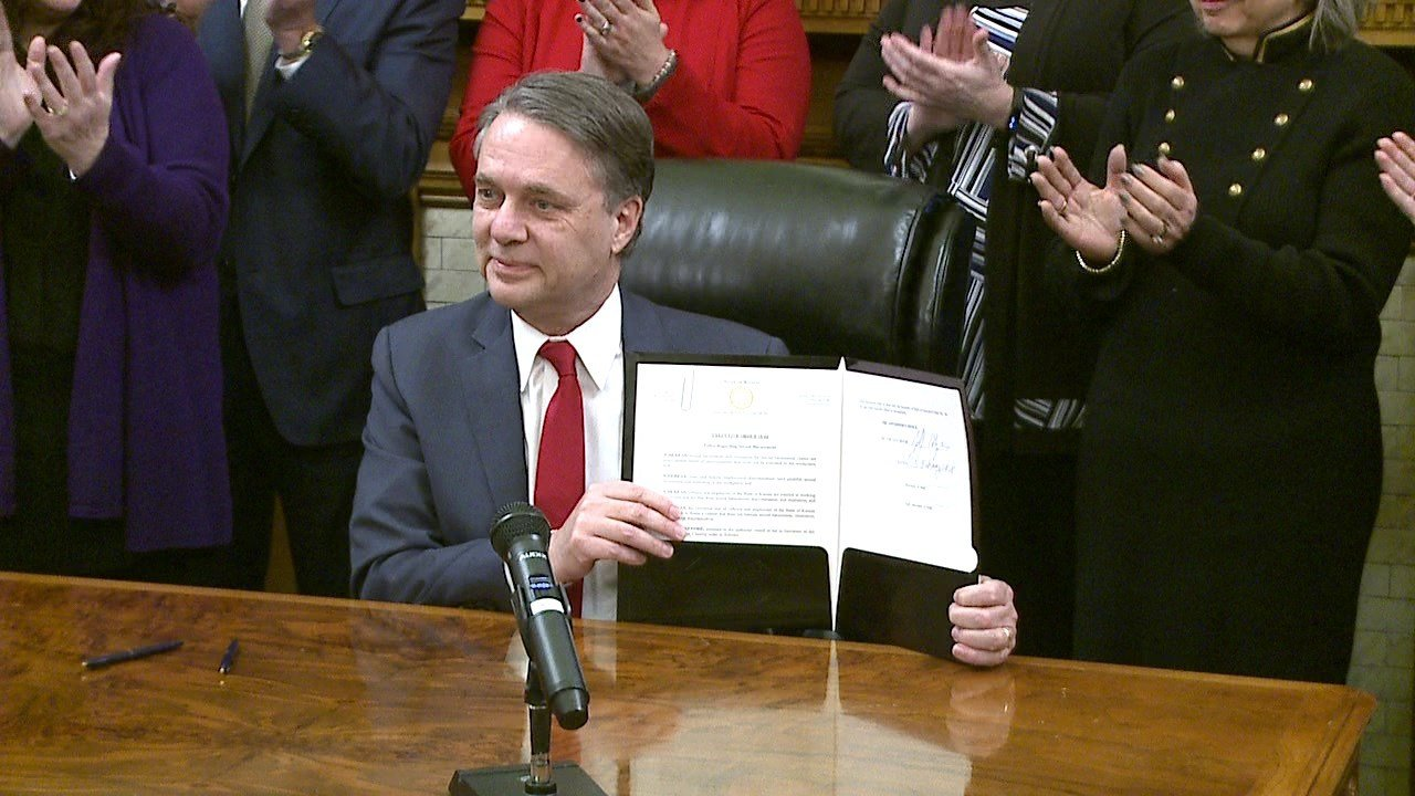 Governor Colyer Signs Order Tightening Kansas Sexual Harassment Policies