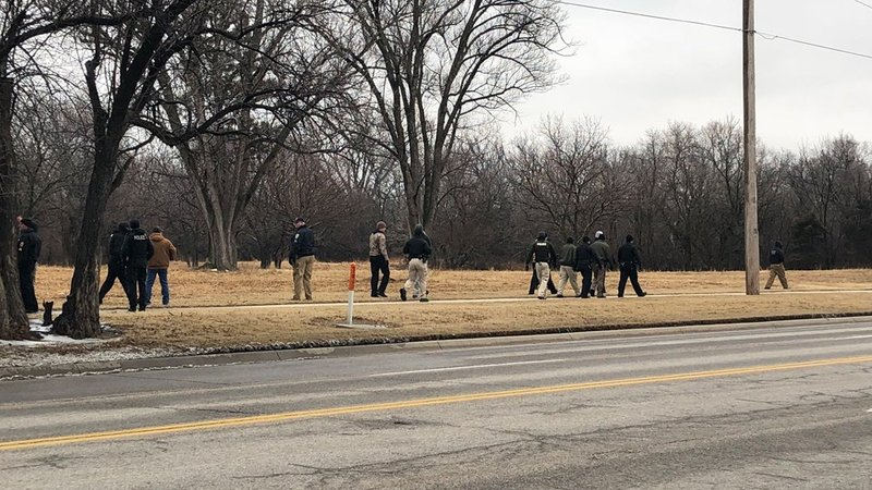 Teams on Friday searched Chisholm Creek Park for 5-year-old Lucas Hernandez