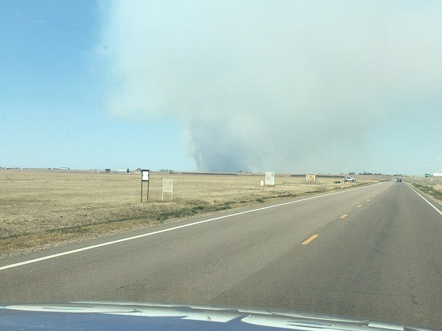 Wildfires continue to burn in Kansas, Oklahoma