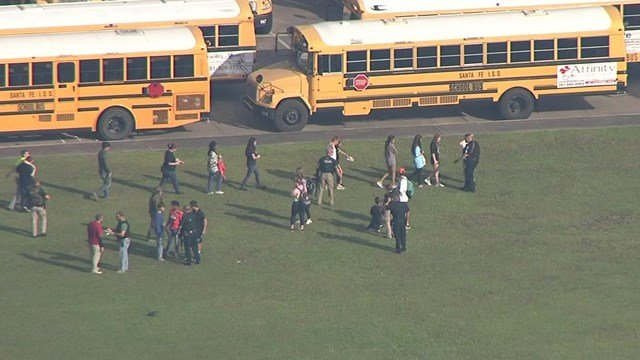 Law enforcement responding to active shooter at high school southeast of Houston class=