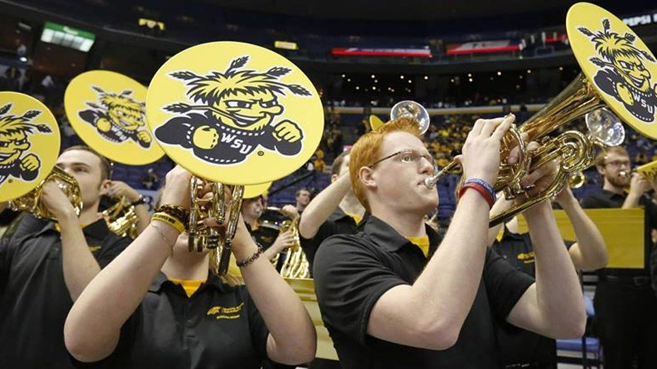 WSU band, courtesy Wichita State University