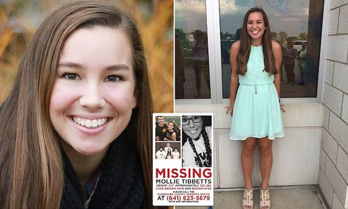 Missing Iowa woman possibly sighted in Missouri