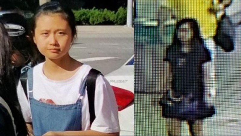 JinJing Ma (left) and alleged abductor.