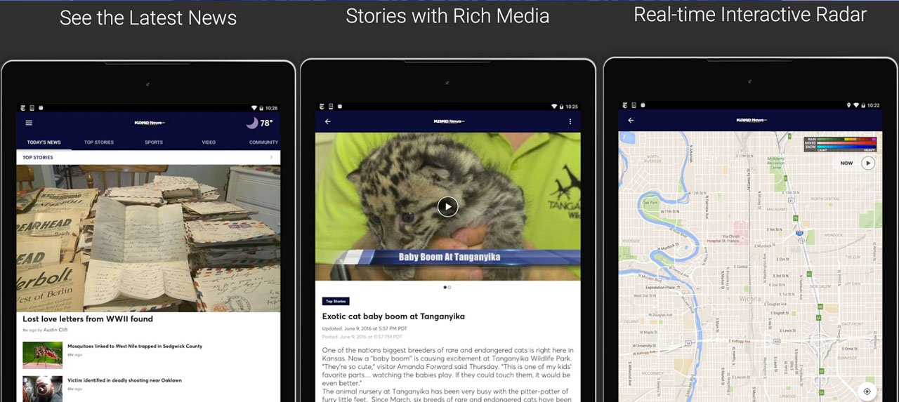 KAKE News app available for Apple, Android devices - KTEN