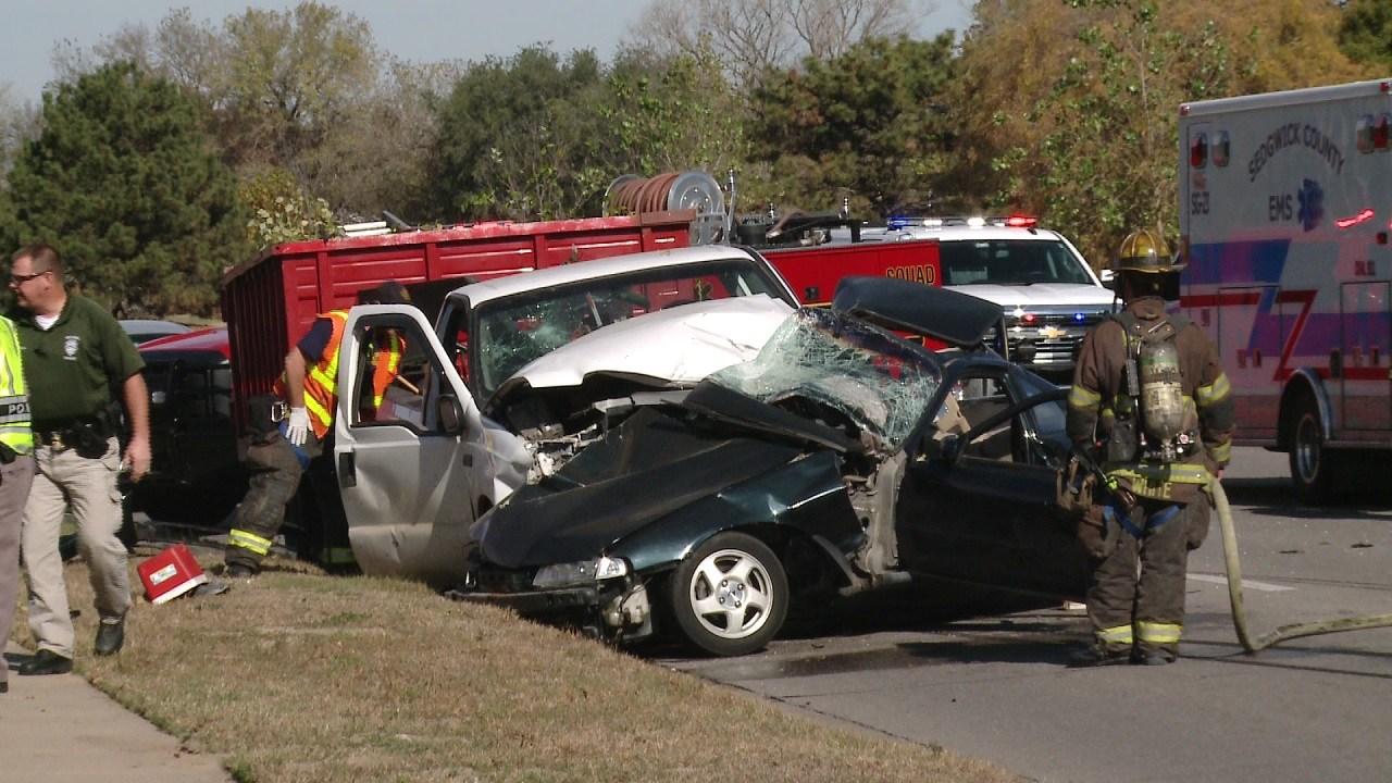 Car Crash Wichita Ks