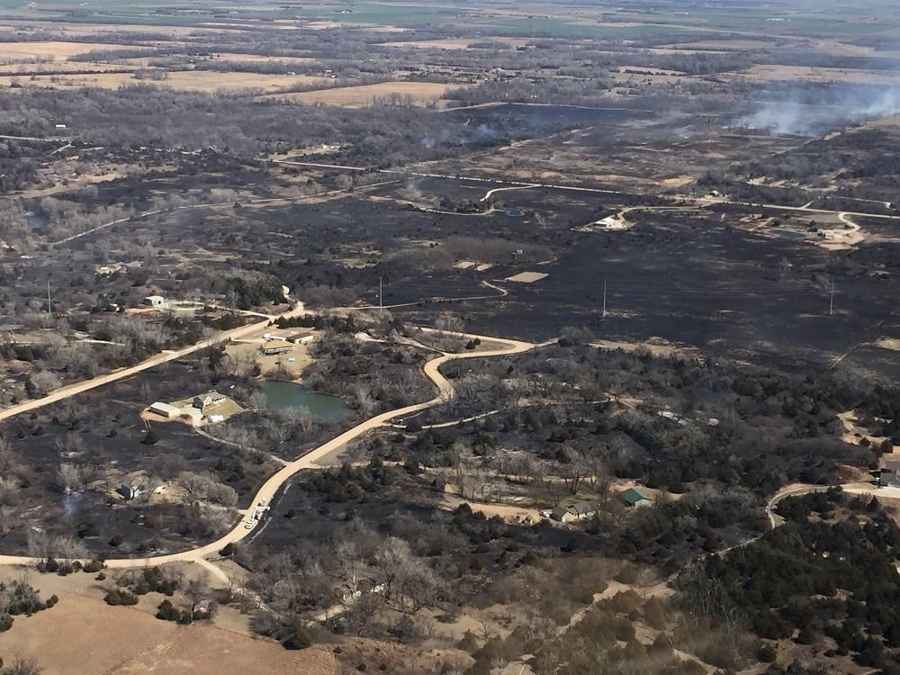 Extreme wildfire event' underway in Kansas