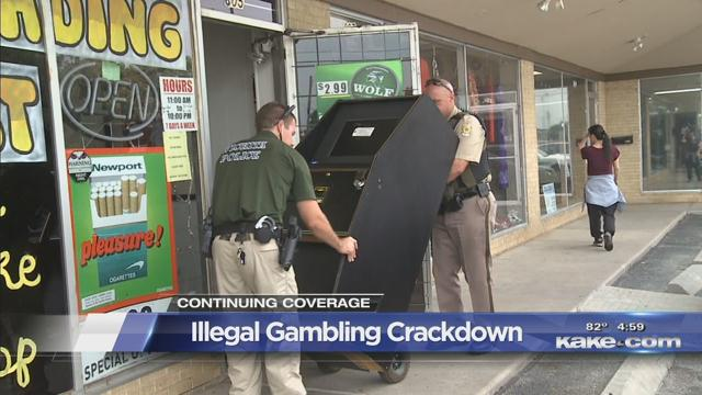 Wichita illegal gambling what games are at a casino