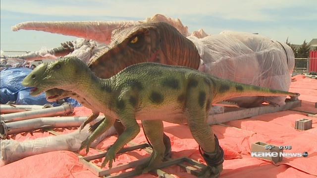 Largest animatronic dino park in North America to open in Derby