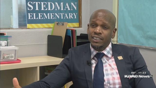Once a custodian, he's now a principal: 'Don't let someone write