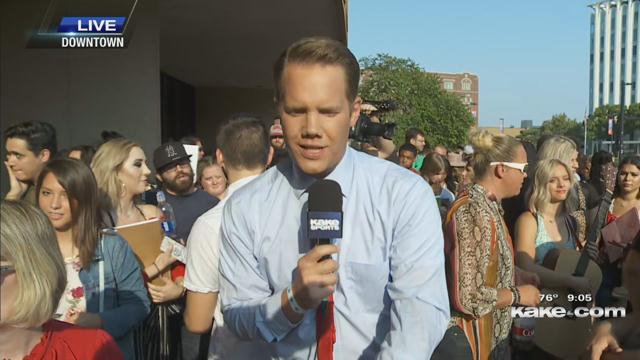 American Idol auditions underway at Century II in Wichita