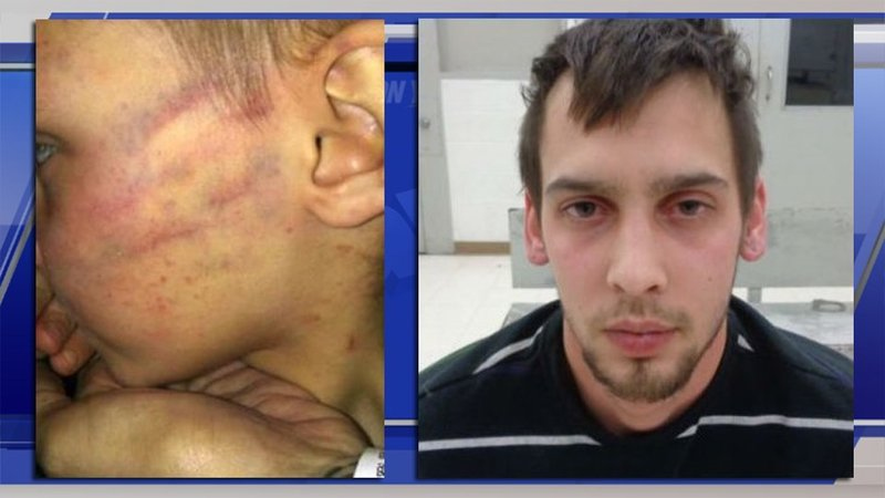 Oklahoma man accused of beating child for opening Christmas pres