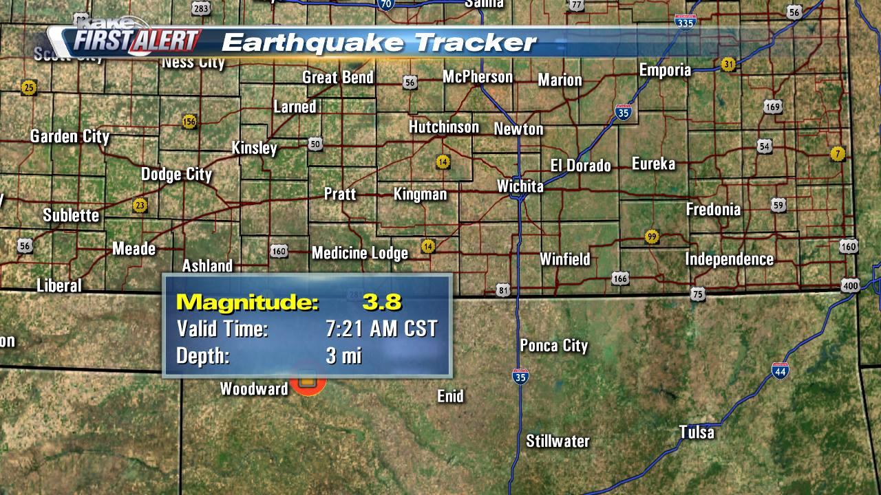 KAKEcom Wichita Kansas News Weather Sports 38 earthquake