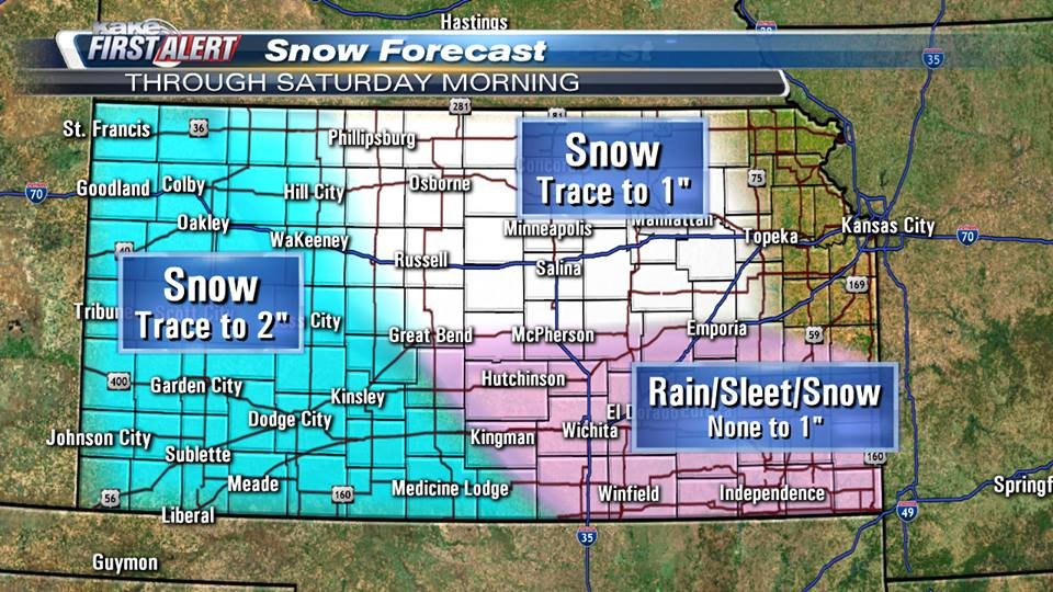 KAKEcom Wichita Kansas News Weather Sports Wintry weather