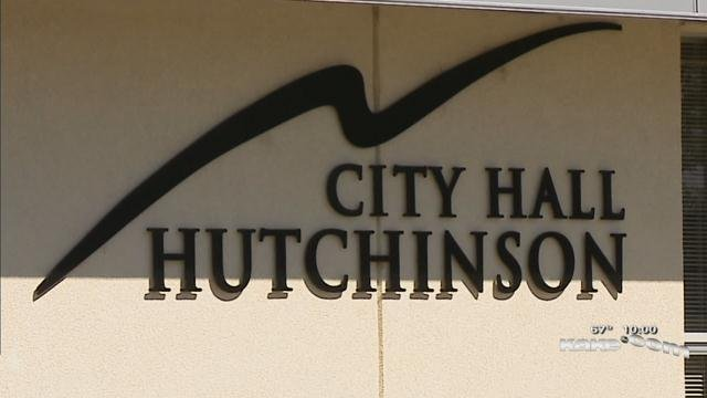Hutch police say a pellet gun caused scare at City Hall