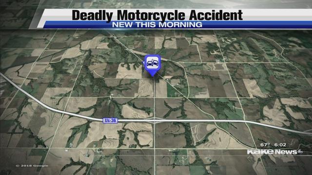 Man dies in NE Kansas motorcycle crash - KTEN com - Texoma news