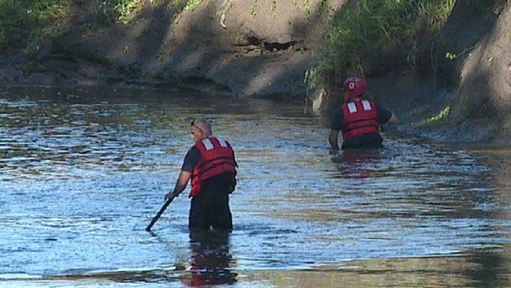 Crews Search Gypsum Creek For Child's Body