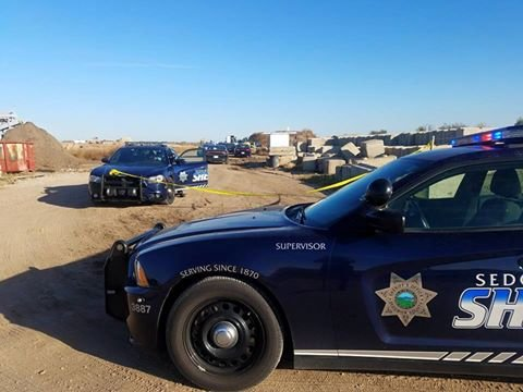 A second child with stab wounds was found in a field near Valley Center