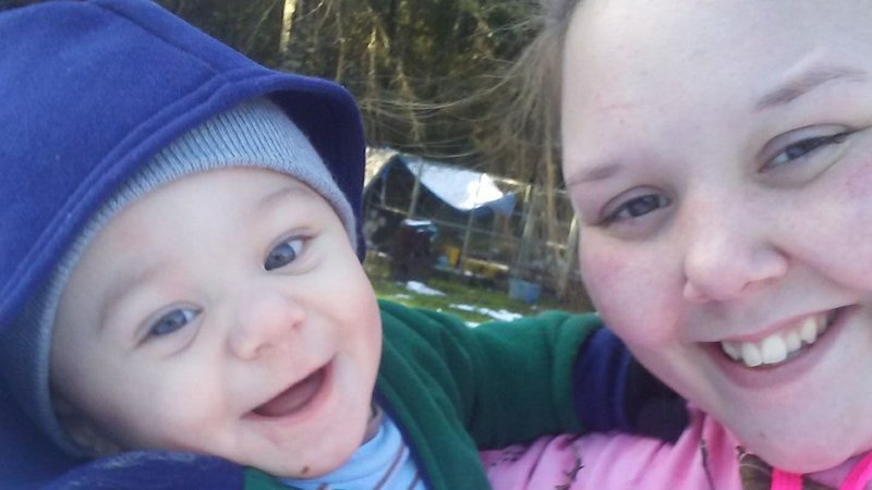 Shelly Mulkey her son, Ryan McCollum Jr. | Facebook