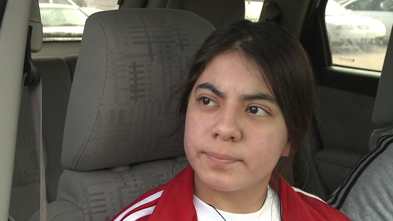 Alejandra Ramirez, junior at Wichita North High School