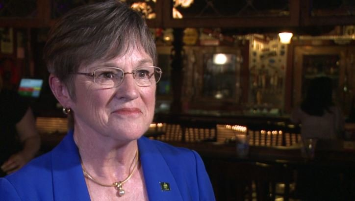 Laura Kelly is the Democratic nominee for Governor of Kansas.