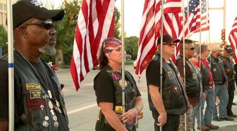 Patriot Guard riders attend fallen deputy's funeral