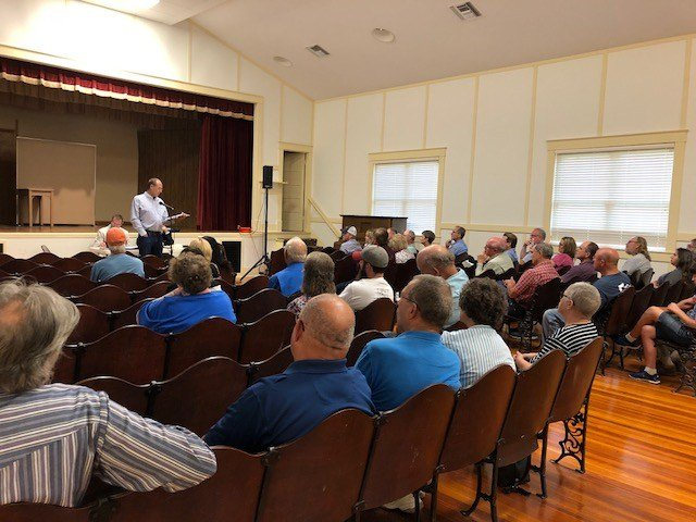 Public meeting held for proposed hog farm