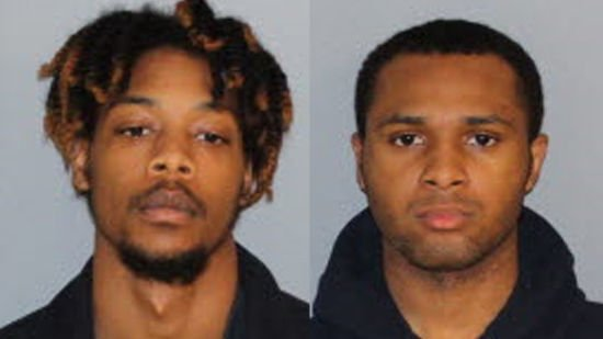 Dequan Hayes (left) and Daireus Jumare Ice. (Jail photos/CNN)