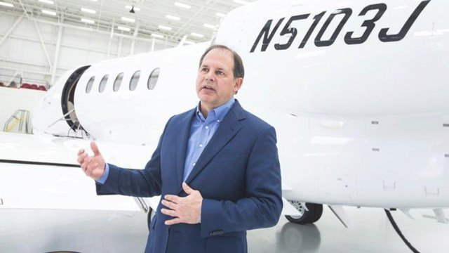 Textron Aviation's Scott Ernest is moving on as CEO of the local company to take over leadership of Textron's industrial segment and Textron Specialized Vehicle Inc. KELLEN JENKINS/ WBJ