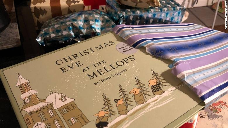 This children's book was among the pile of presents an elderly man left for his 2-year-old neighbor following his death.