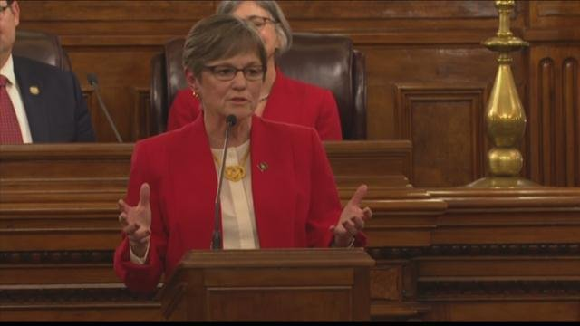 Gov. Laura Kelly delivers State of the State speech in Topeka (1.16.2019)